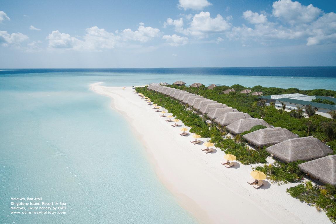 Dhigufaru Island Resort, Baa Atoll, Maldives - Beach Villas