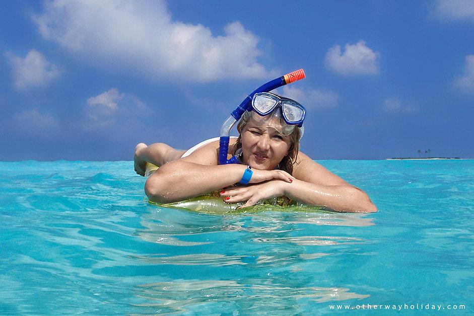 Lucie Mohelníková, Paradise Island Resort & Spa, Maledivy