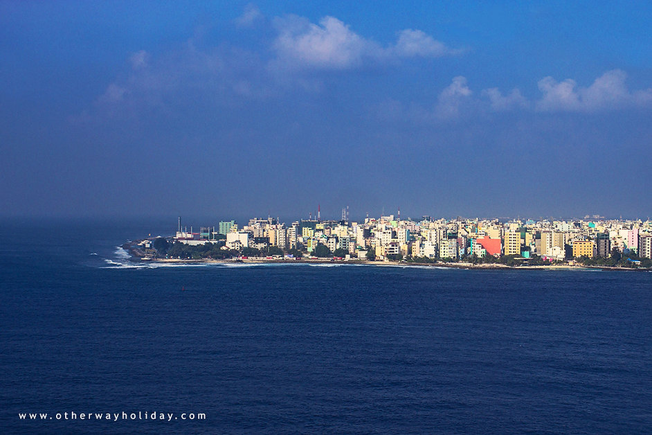 Male, Maledivy, let z Prahy na Maledivy