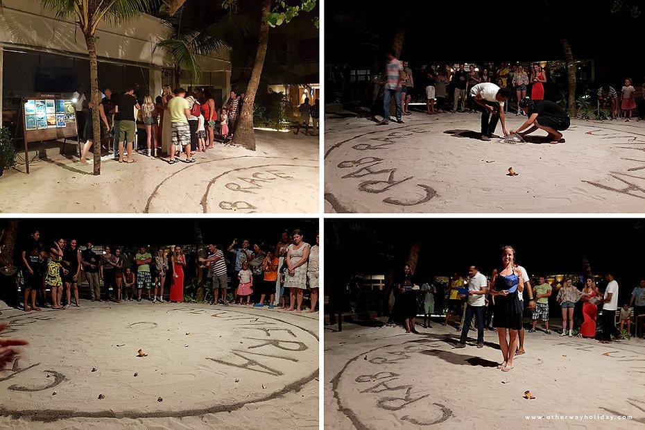Krabí závody, Maledivy