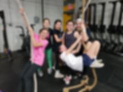 Girls on the Ropes.JPG