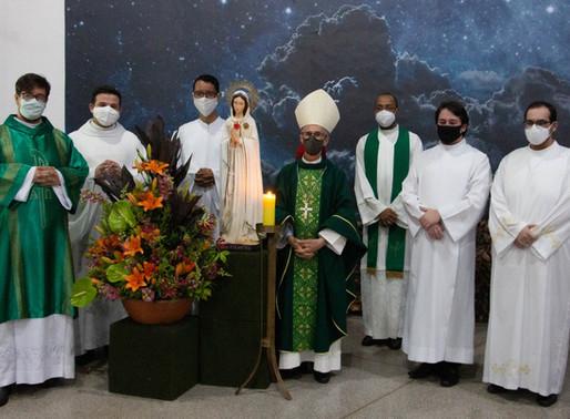 Seminaristas participam de encerramento do mês vocacional