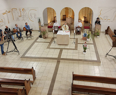 Dom Paulo celebra pelos 25 anos da Rede Vida