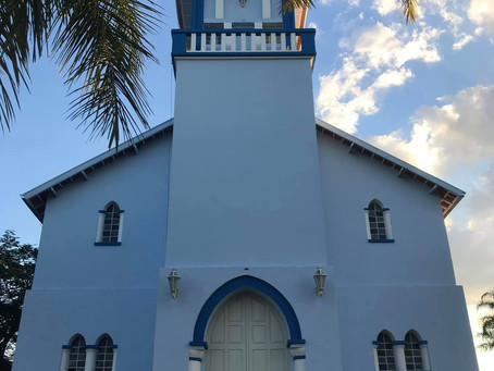 Reforma e restauração da Igreja centenária de Veríssimo/MG