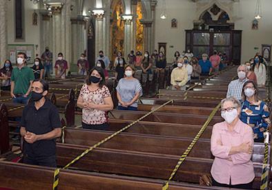 Arquidiocese de Uberaba retoma as Celebrações Eucarísticas com o povo