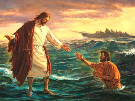 Tendo Jesus...