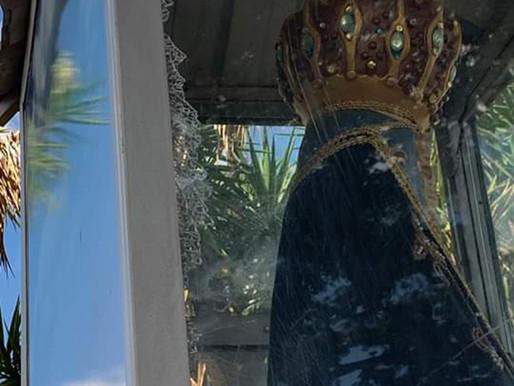 Segundo atentado contra imagem de Aparecida em Uberaba