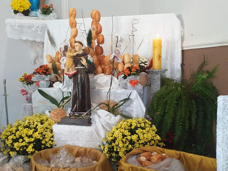 Quase Paróquia Santo Antônio de Pádua e suas festividades em época da pandemia