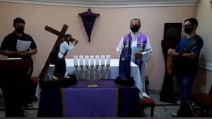Atividades do propedêutico na Semana Santa