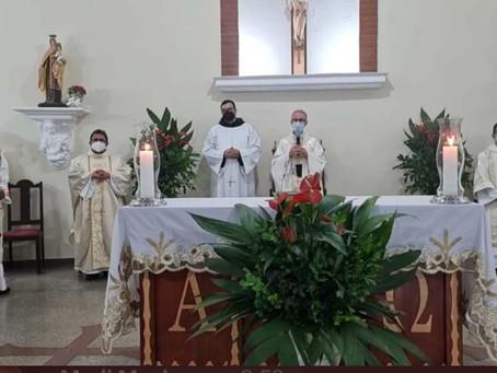 Criação e Instalação da Paróquia do Senhor Bom Jesus em Uberaba/MG