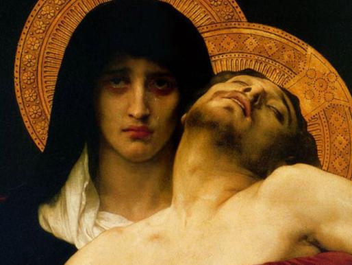 Como o olhar para Maria, a Senhora das Dores, nos enche de esperança?