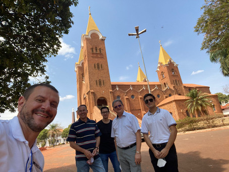 Propedeutas fazem peregrinação a Romaria