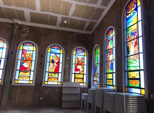 A construção espiritual e material de nossa Matriz: rumo aos acabamentos