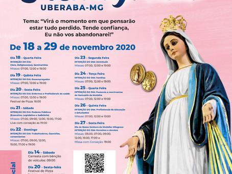 Festa Nossa Senhora da Medalha Milagrosa 2020
