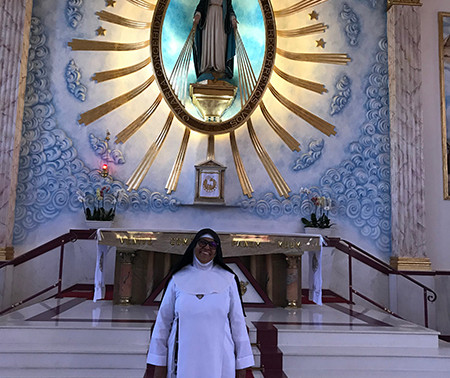 Nomeação de Irmã Jacinta assumindo Coordenação do Mosteiro Nossa Senhora da Medalha