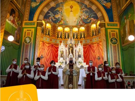 Instituídos em Araxá os Guardiões do Santíssimo Sacramento