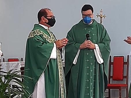 Posse de Padre Sandro Romério de Lima na Paróquia Santa Maria dos Anjos
