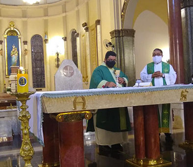 Festa de Nossa Senhora D'Abadia é cancelada e Santuário anuncia celebrações on-line