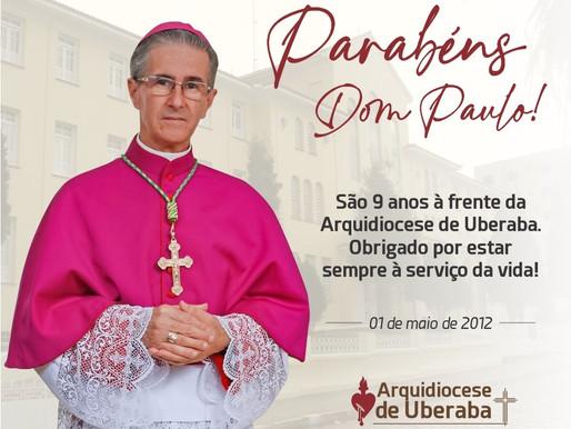 Nove anos a serviço da Arquidiocese de Uberaba e da vida!