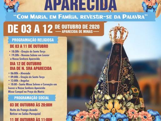 Estágio Pastoral na Paróquia Nossa Senhora Aparecida Aparecida de Minas