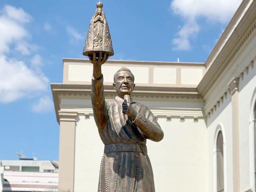 Sacramento inaugura estátua do Servo de Deus Padre Vitor Coelho de Almeida