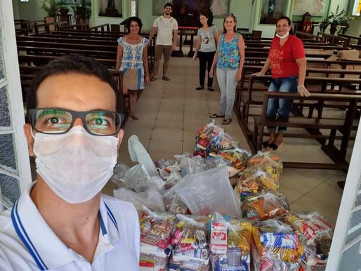 Surpresa no gesto social no Bom Pastor e São João Batista
