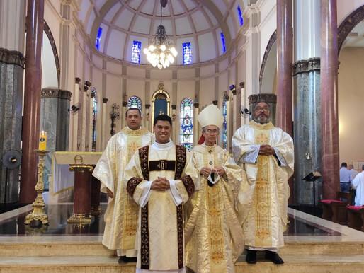 Ordenação diaconal de Wesley Barroso acontece no próximo domingo, no Santuário Basílica D'Abadia