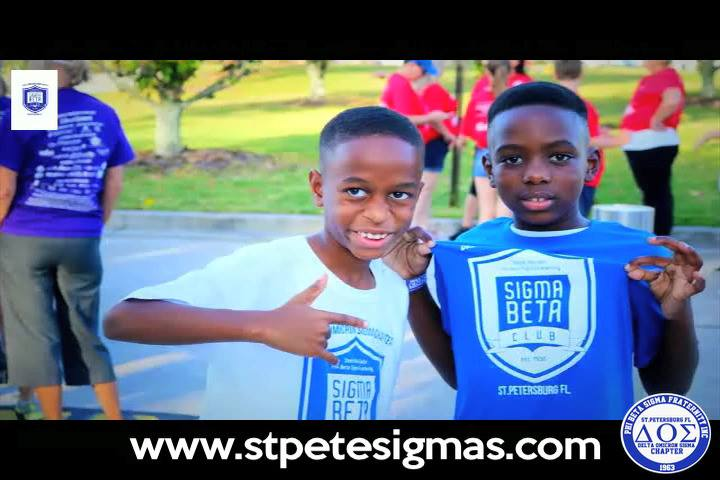 DOS & Sigma Beta Club at the Walk to End Alzheimer's at Brighthouse Field Clearwater Fl. If you would like more info about the St.Pete Sigma's & our Sigma Beta Youth Club go to www.stepetesigmas.com.