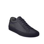 Navy Leather Sneaker - Common Projects