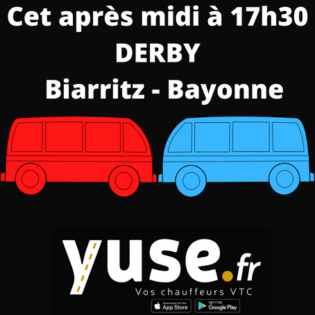 DERBY Biarritz-Bayonne le 12 juin 2021 à 17h30