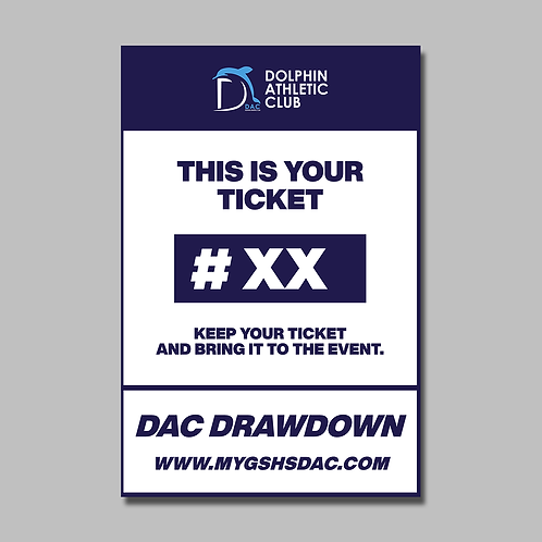 Drawdown Ticket #300
