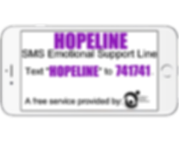 Hopeline Suicide Prevention hotline