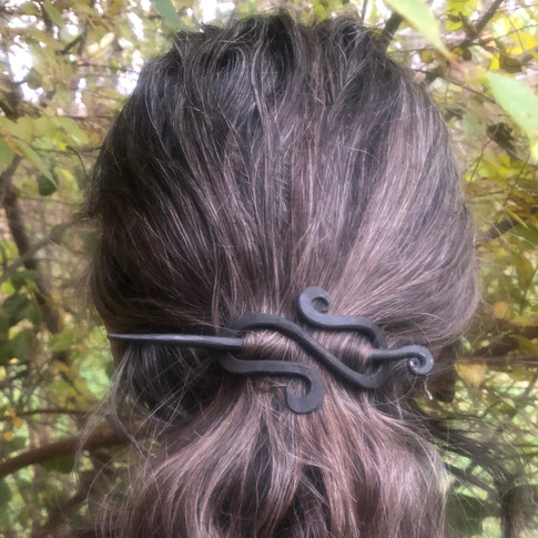 Hand Forged Hair Pin
