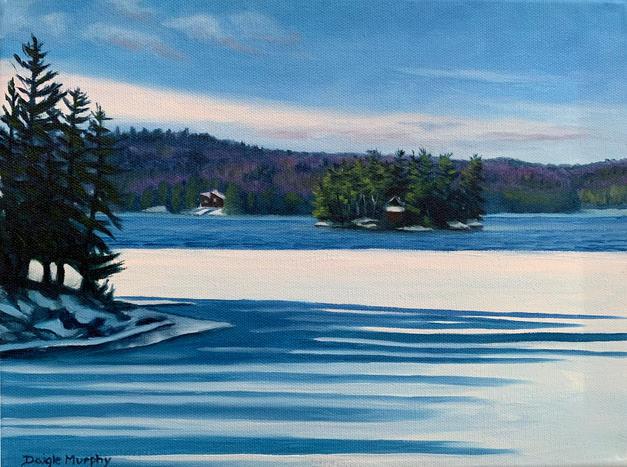 22. Winter Lake