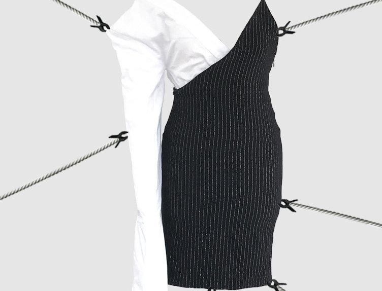 Asymmetrical dress SS18