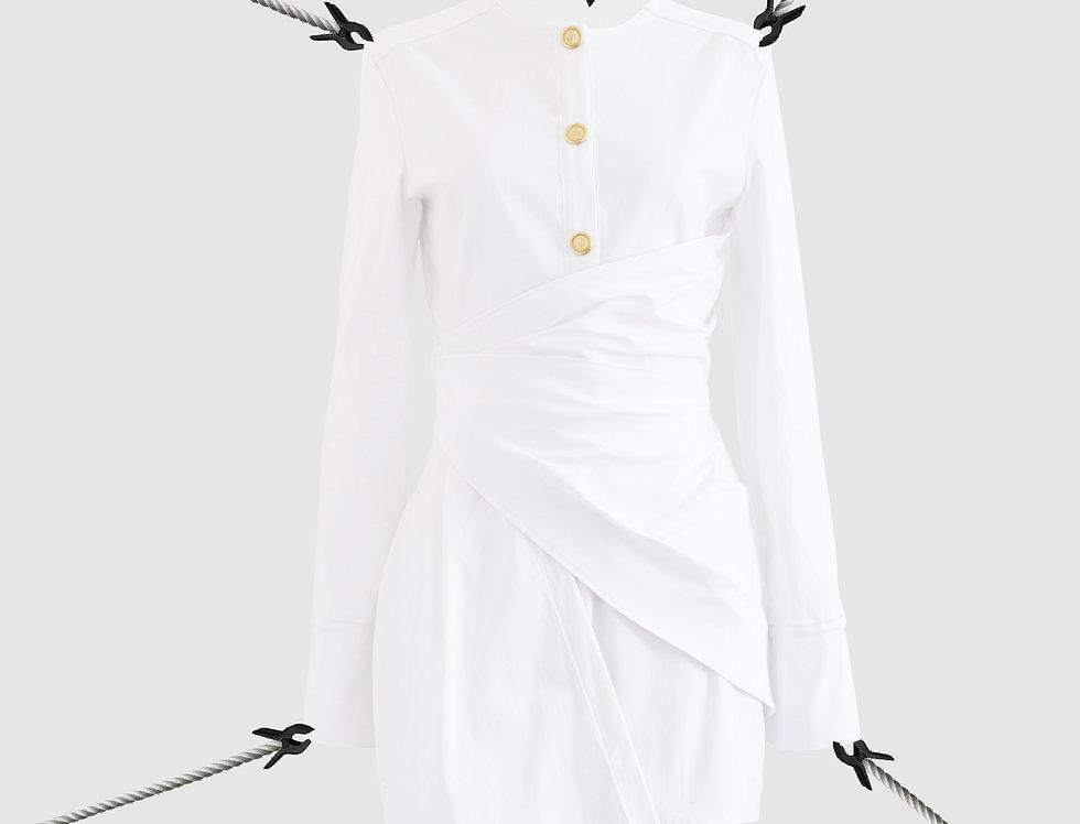 Draped skirt SS19