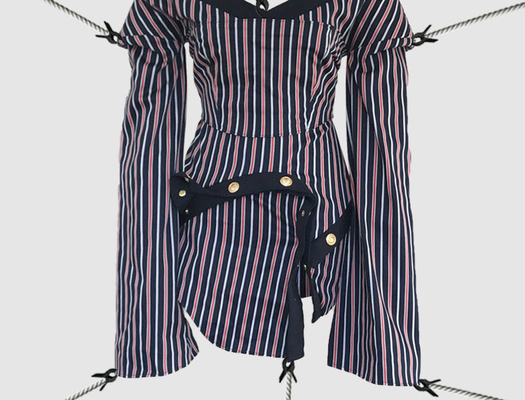 Striped Dress SS18