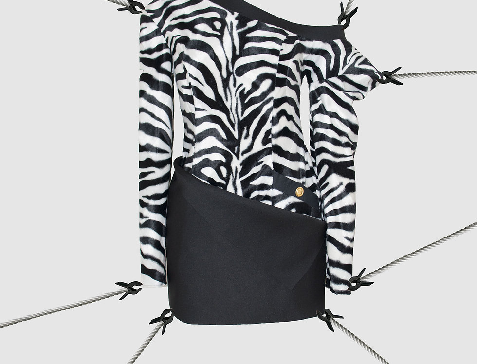 Zebra Dress FW17