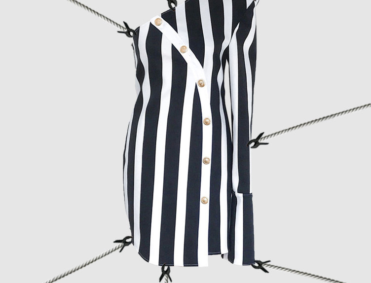 Striped Dress SS18