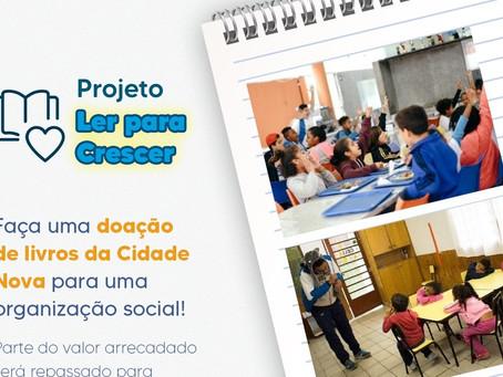 """Participe do """"Projeto Ler Para Crescer"""""""