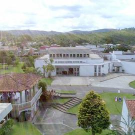 Centro Mariápolis Ginetta Imagem Aérea