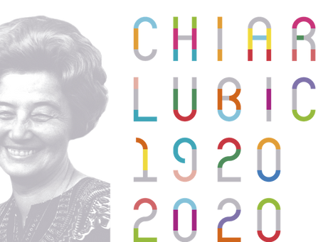 Comemoração do Centenário de Chiara Lubich