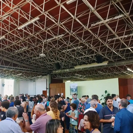 Centro Mariápolis Ginetta Refeitório