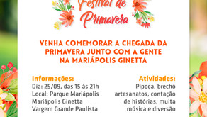 Il 25 settembre si terrà il 1° Spring Festival SMF a Vargem Grande Paulista (SP)