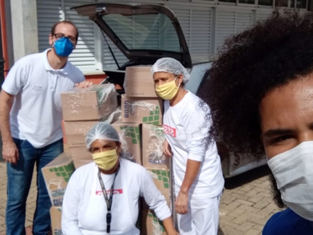 Sesi São Roque arrecada alimentos para famílias assistidas pela SMF