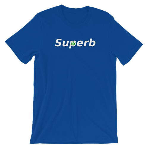 Color Shirt with White Logo