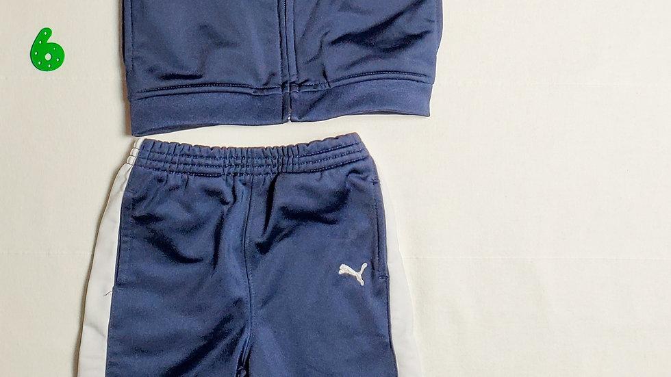 Conjunto Pants y Chamarra color azul