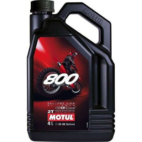 Motul 800 2T Factory Line Off Road 4L