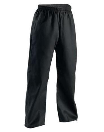 Black karate pants
