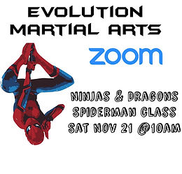 Zoom Class with Spiderman!